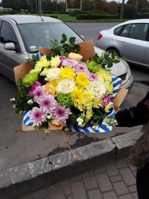Букет_На_душе весна_buketik.dp.ua