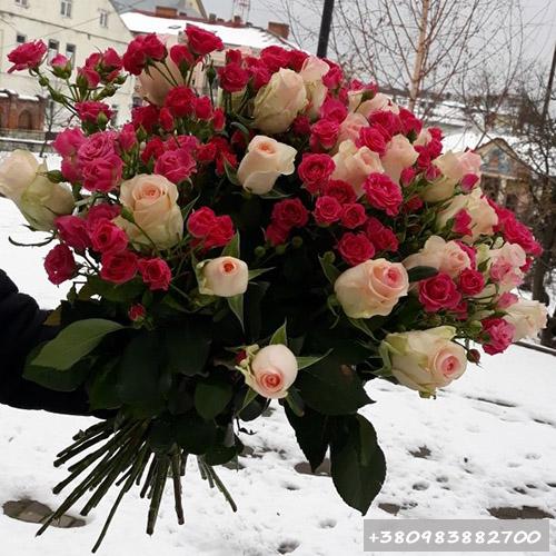розы букет фото