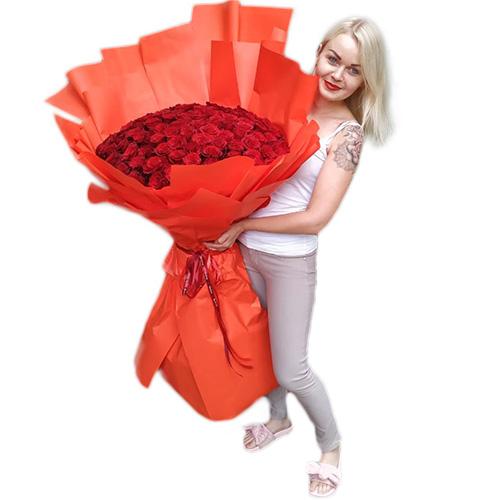 товар 101 метровая роза